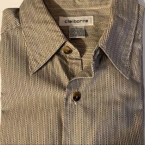 Mens Liz Claiborne Short Sleeves Shirt - Large